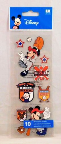 Disney Scrapbook Stickers Mickey Minnie Mouse Donald Daisy Duck Pluto Goofy