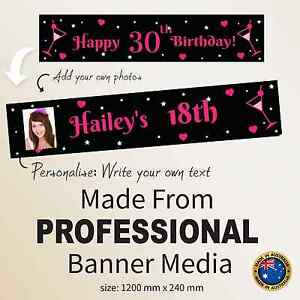 18th-21st-30th-Birthday-Hanging-Decorations-Canvas-Party-Banner-Personalised