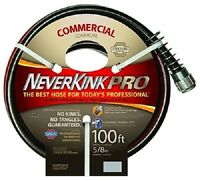 (2) Ea Teknor-apex 8844-100 5/8 X 100' Ft Neverkink Commercial Duty Garden Hose