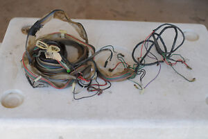image is loading triumph-tr7-rear-wiring-harness-wiring-loom