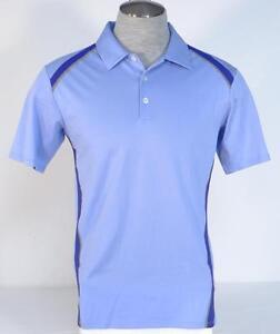Adidas-ClimaCool-Periwinkle-Short-Sleeve-Polo-Shirt-Men-039-s-NWT