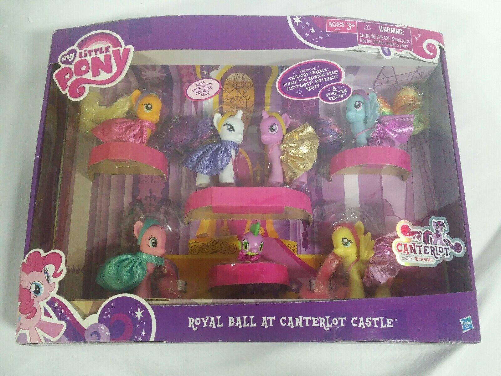 Min lilla Pony Canterlot Royal boll vid Canterlot Castle