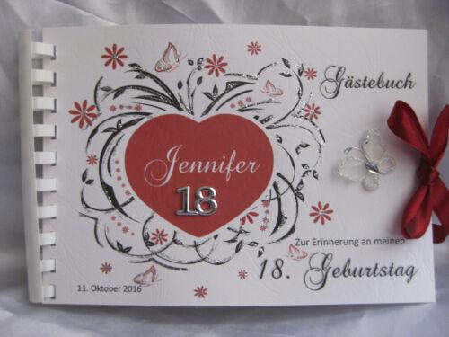 20 30 40 50 60 70 80 Deko Gästebuch Din A5 Geburtstag Runder Geburtstag 18