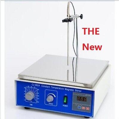10L Digital Thermostatic Magnetic Stirrer mixer with hotplate 110V or 220V