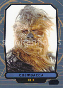 2013-Topps-Star-Wars-Galactic-Files-2-Blue-Parallel-484-Chewbacca-050-350
