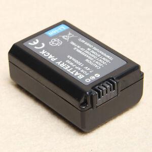 New NP-FW50 Camera Battery For Sony NEX-3 NEX-5 NEX-6 Alpha 7R A35 A55 A6000 6901548105698