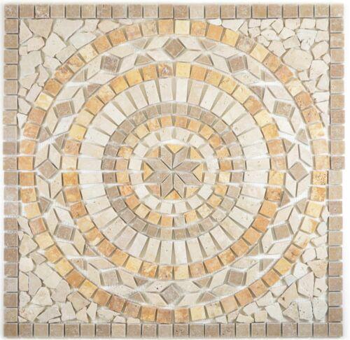 Einleger noce gold chiaro beige braun gold matt Wand Boden Küche Bad  WBDEKO79