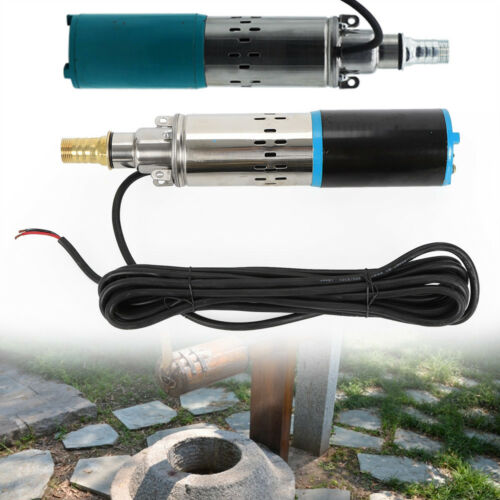 30M Deep Well Water Pump Submersible Stainless Steel DC24V 200W