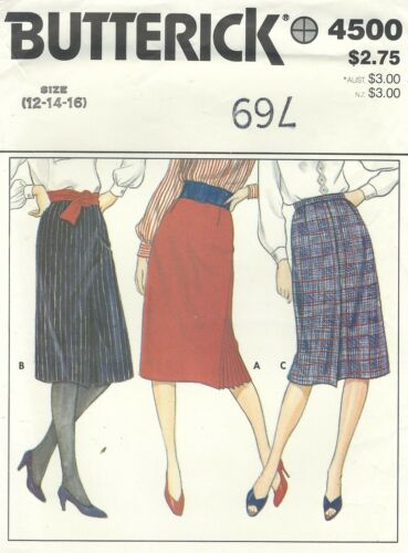 Butterick 4500 Misses/' Skirts *Compare @ $12  Sewing Pattern