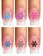 Indexbild 14 - Nail Tattoo Nail Art Schneeflocken Eiskristalle Winter Weihnachten + Glitter