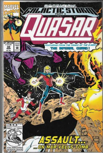 QUASAR #32 VF//NM 1ST APPEARANCE OF KORATH THE PERSUER