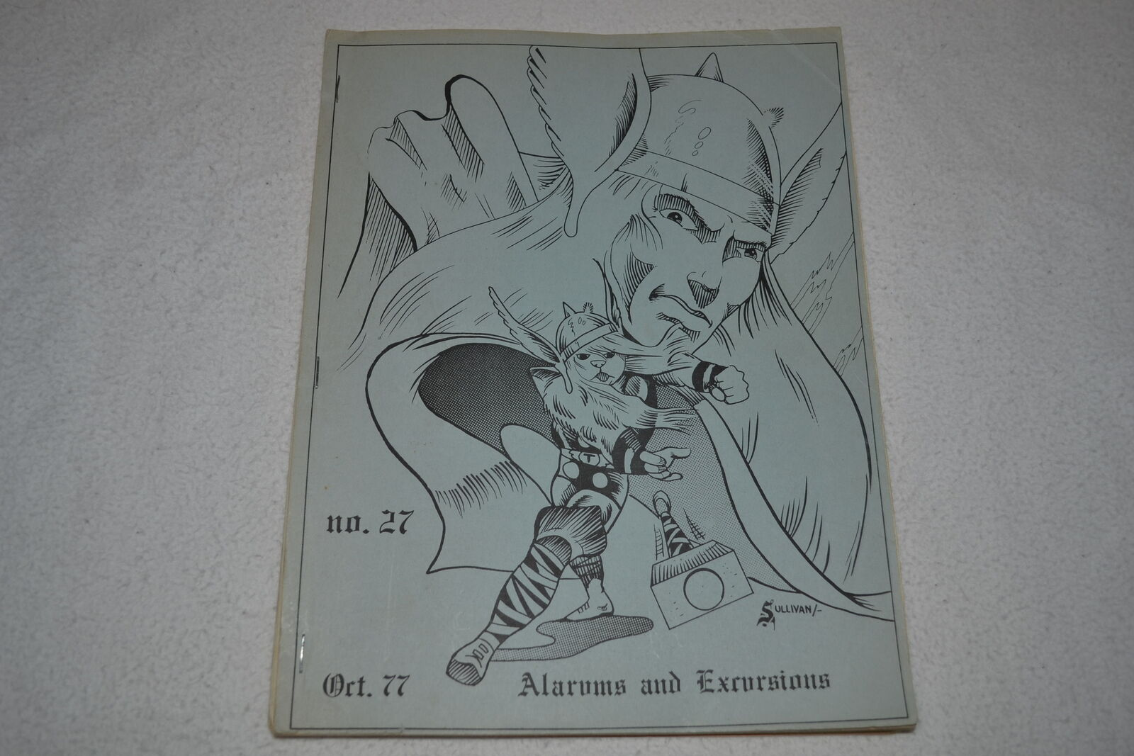 Alarums & Excursions Oct 1977 D&D Traveller RPG Adventure Gaming Magazine