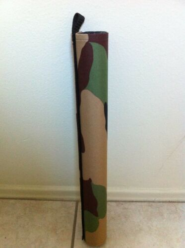 Bicycle Frame Top Tube Protector Green//Brown Camoflage Bikes