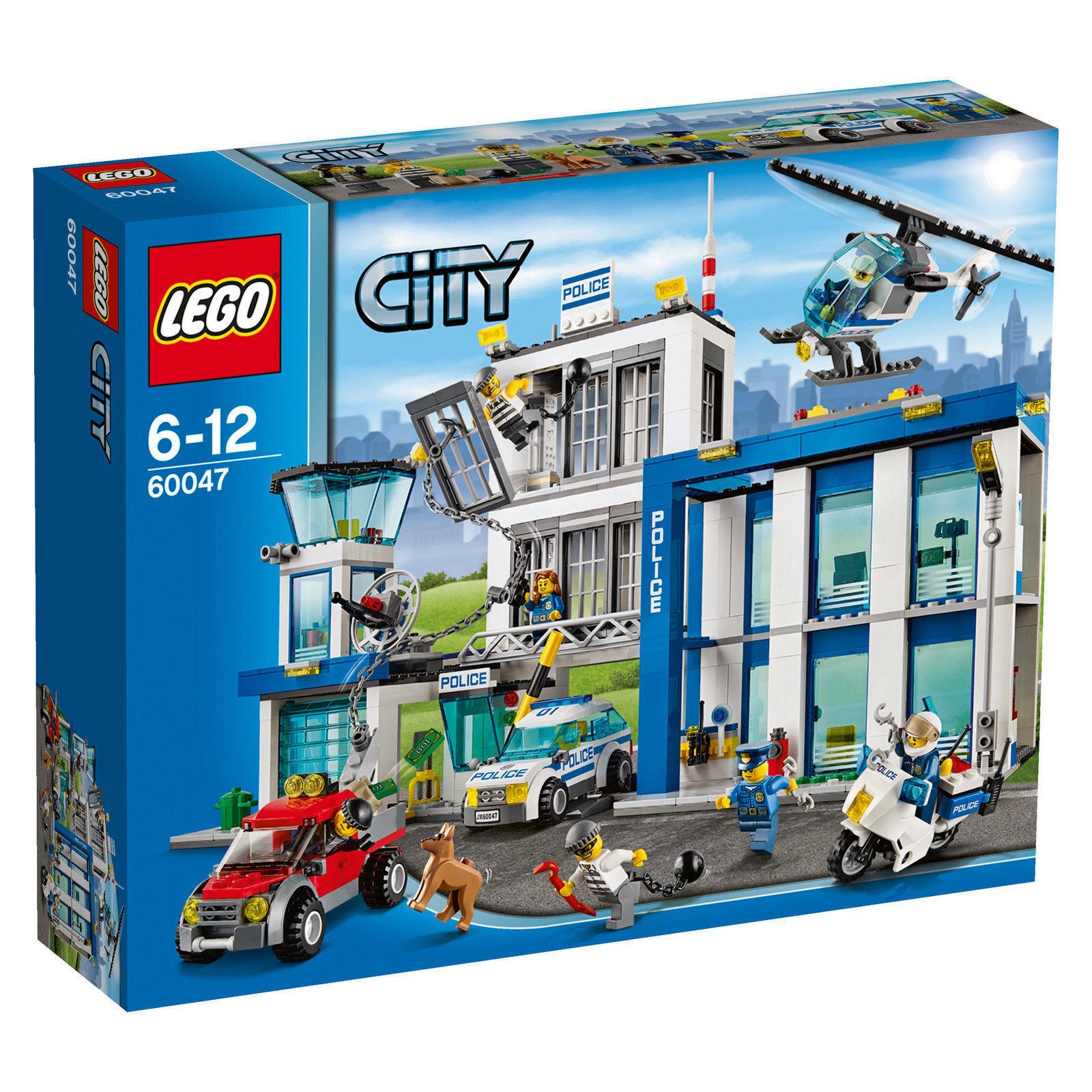 LEGO City Ausbruch aus der Polizeistation (60047) Police Station Poste de police