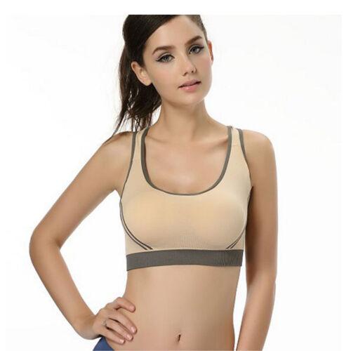 Women Running Sports Bra Yoga Gym Workout Vest Crop Tops Shapewear Swim Bra GIFT