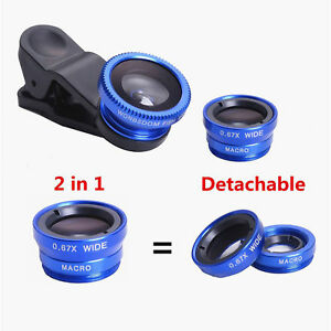 3-en-1-UNIVERSAL-OJO-DE-PEZ-GRAN-ANGULAR-Camara-Movil-Micro-Clip-optica