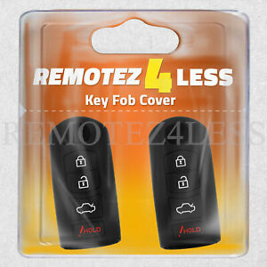 Key Fob Cover for 2017 2018 Toyota Yaris iA Remote Case Rubber Skin Jacket
