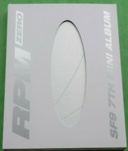 SF9 RPM Zero Version 7th Mini Album + Photobook