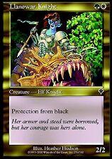 Llanowar Knight EX X4 Invasion MTG Magic Cards Green White Gold Common