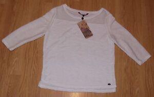 Tom-Tailor-Denim-T-Shirt-structured-shirt-with-mesh-Gr-S-NEU