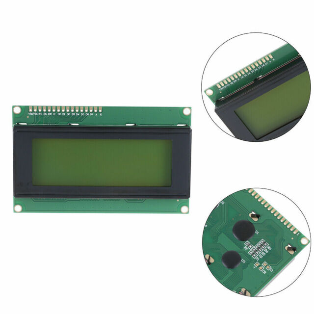LCD 20x4 2004A YELLOW GREEN Display Module Backlight Screen