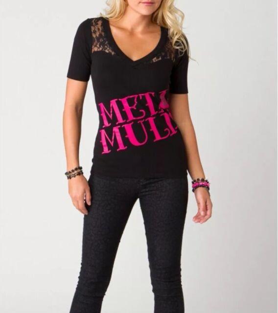 Metal Mulisha Ladies Max Top Size XS