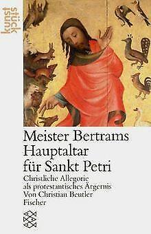 Meister Bertram. Der Hochaltar von Sankt Petri: Christli... | Buch | Zustand gut