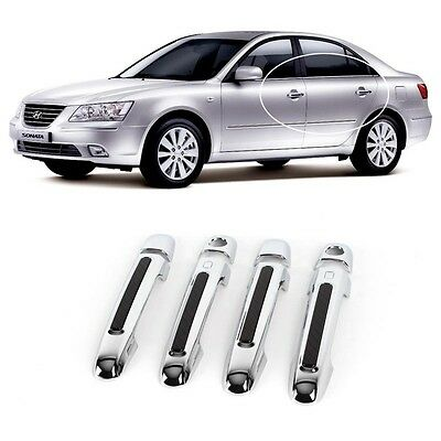 Luxury Door Catch Chrome Molding Handle Cover for Hyundai Sonata i45 2006-2010