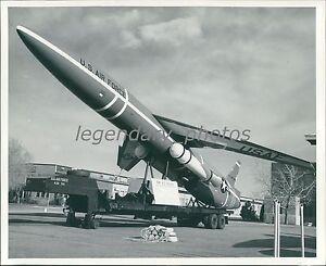 Details about SNARK ICBM Hill Air Force Base Utah 1959 Original News  Service Photo