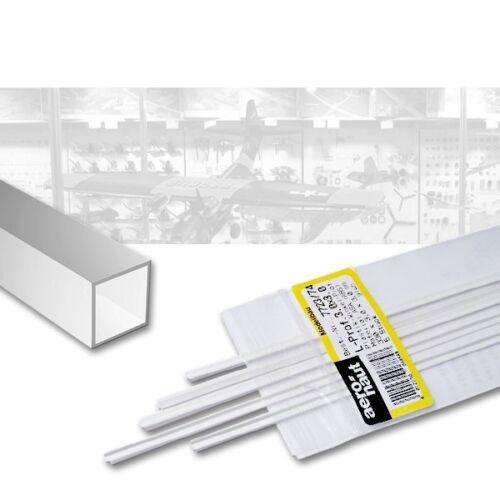 (1,35€/Stück) ASA Quadratrohr 7,0 mm, innen 5,0 mm 5 Stück, Länge je 330 mm