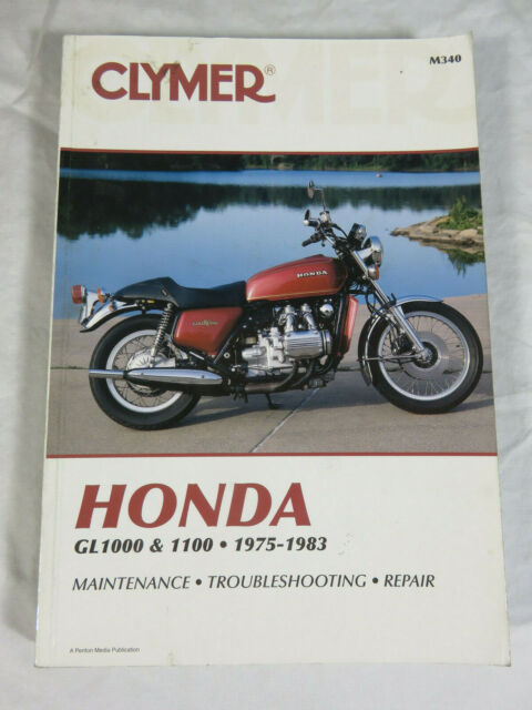 Clymer Service Repair Maintenance Manual Honda Gold Wing