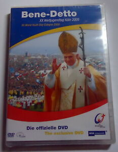 Bene-Detto-XX-Weltjugendtag-Koeln-2005-DVD-2005-NEU