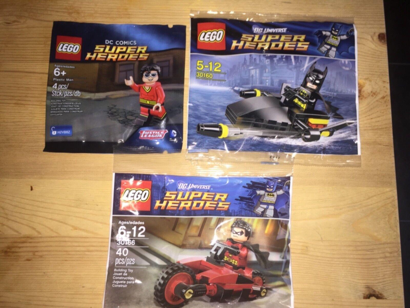 Lego 30166    30160  5004081-Super Heroes - 3x DC Bundle polybag PROMO 4b1262