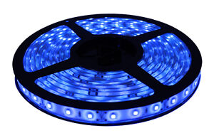 Boat Accent Light WaterProof LED Lighting Strip RV SMD 5050 300 LEDs 16ft YELLOW