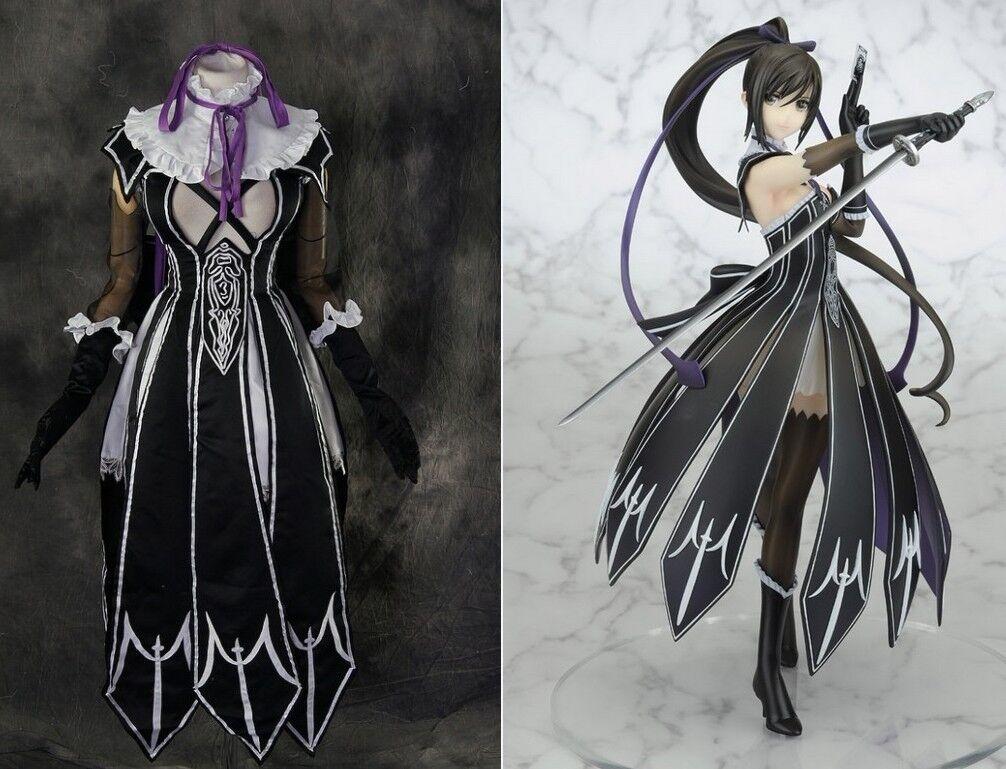 H-166 shining Blade sakuya Black robe cosplay costume costume costume costume sur mesure 8250f2