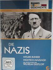 Die Nazis - Hitlers Bunker - Wilhelm Gustloff - Nazijagd - letzte Stunden Hitler