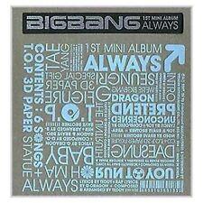 KOREA MUSIC BIGBANG/ALWAYS (2007 BIGBANG MINI ALBUM)