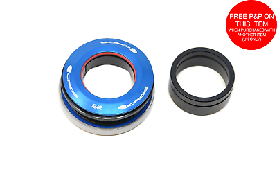 "TLC BIKES Integrated BMX Headset Replacement Bearings 1 1//8/"" 45//45"