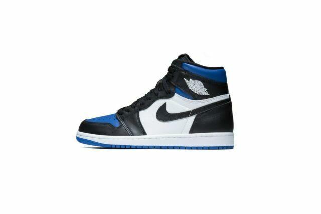Nike Air Jordan 1 Retro High Og Royal Toe Shoe For Men Size 12