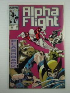 X-MEN ALPHA FLIGHT #52 VOL.1 VF//NM