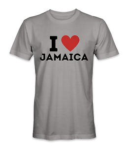 Jamaica Flag T-Shirt Country Souvenir love Vintage Adults And Kids Gift Top