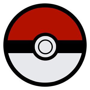 Pokemon Pokeball Decal Sticker