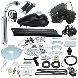 Universal-Black-2-Stroke-80CC-Gas-Engine-Motor-Kit-DIY-Motorized-Bike-Bicycle