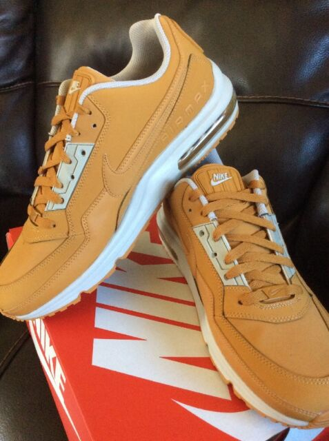 NEW Nike Air Max 1 LTR PRM Wheat Flax Suede leather Brown size 12 Collector Item