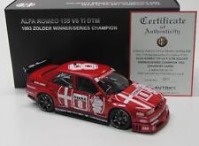 Alfa Romeo 155 V6 TI ( DTM Winner Zolder 1993 ) No.8 / AutoArt 1:18