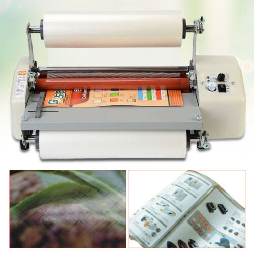 MACHINE laminator 220V Bürotechnik Hot Roll Laminiermaschine 8460T 440mm A2+