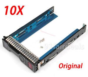 10PCS-Original-HP-HDD-Tray-Caddy-3-5-034-Smart-G8-GEN-8-SAS-SATA-651314-001-DL380p