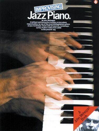 Improvising Jazz Piano Book and CD NEW 014015992