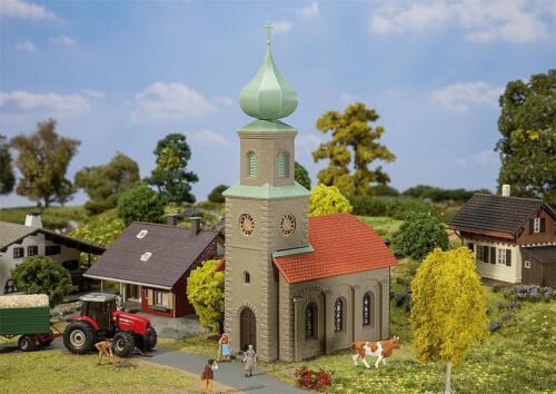 Villiage Church Faller Hobby 131308 H0 Miniatures Kit 1:87