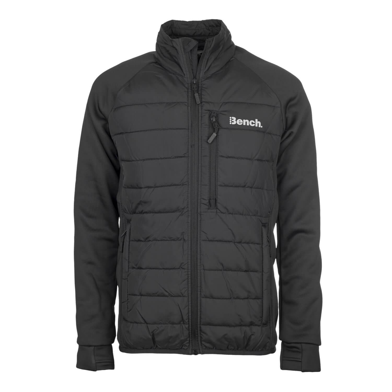 Bench Intellectual Jacke schwarz - Herren Übergangsjacke oder als Thermo Layer